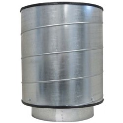 Stack Caps for Industrial Ventilation System