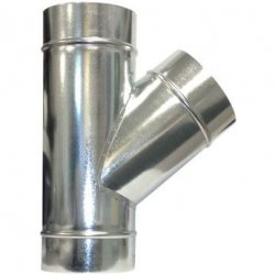 Light Gauge 45 Degree Lateral Tee